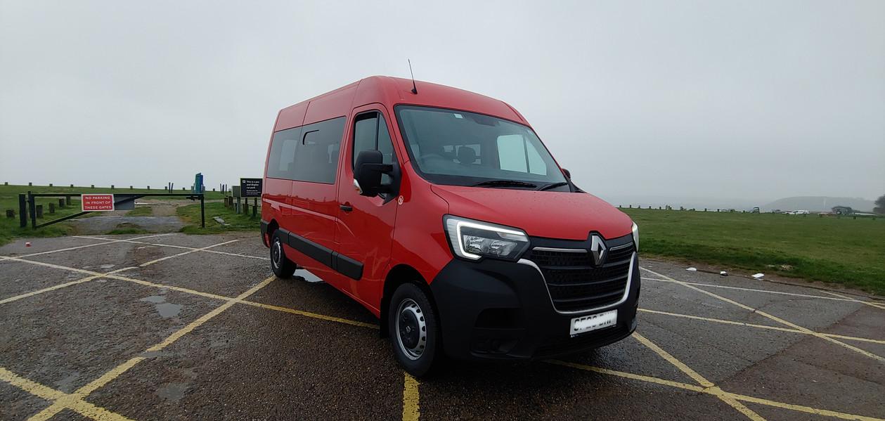 Front Off Side Warnerbus converted Renault Master