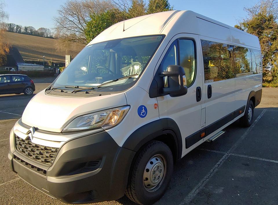 Wheelchair Accessible Minibus conversion by Warnerbus