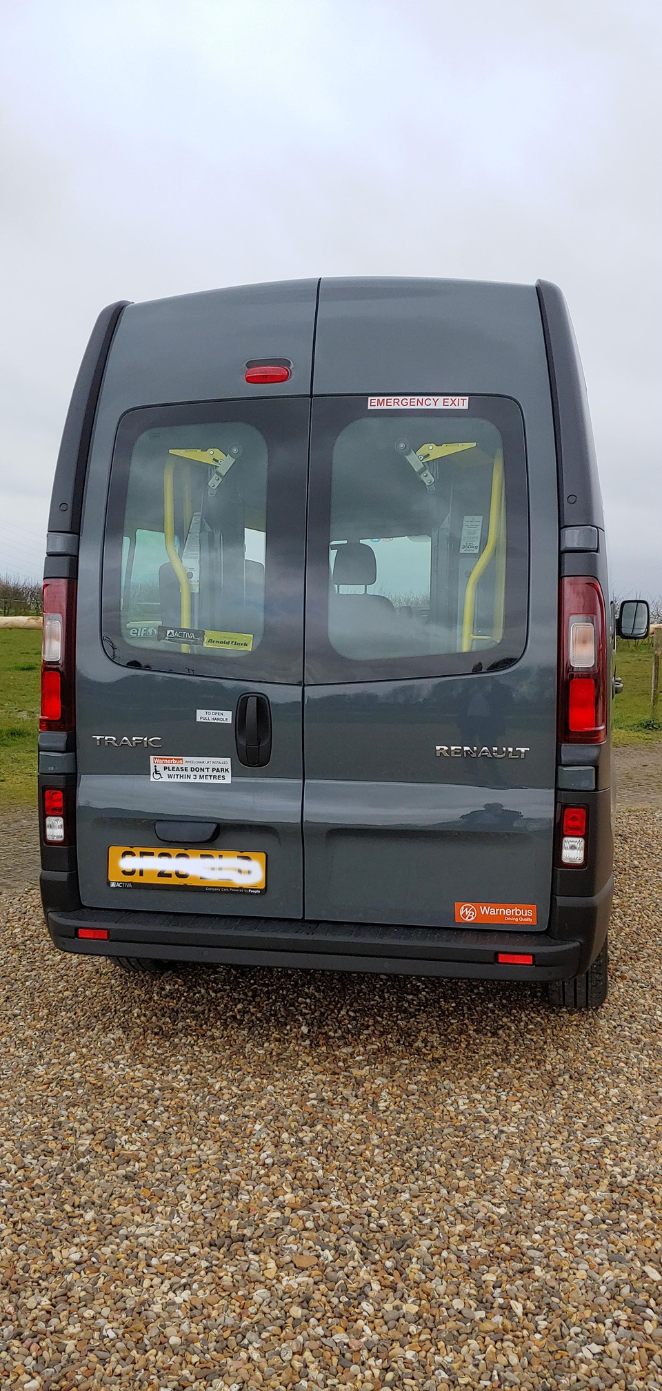 Renault Trafic Minibus conversion by Warnerbus