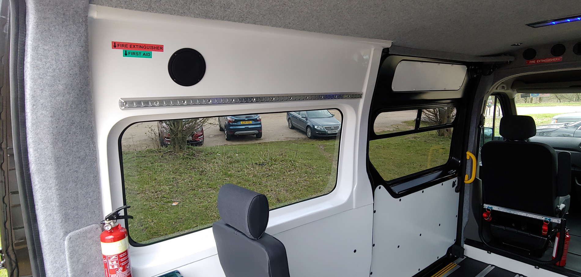 Cant rails and anti bacterial finish