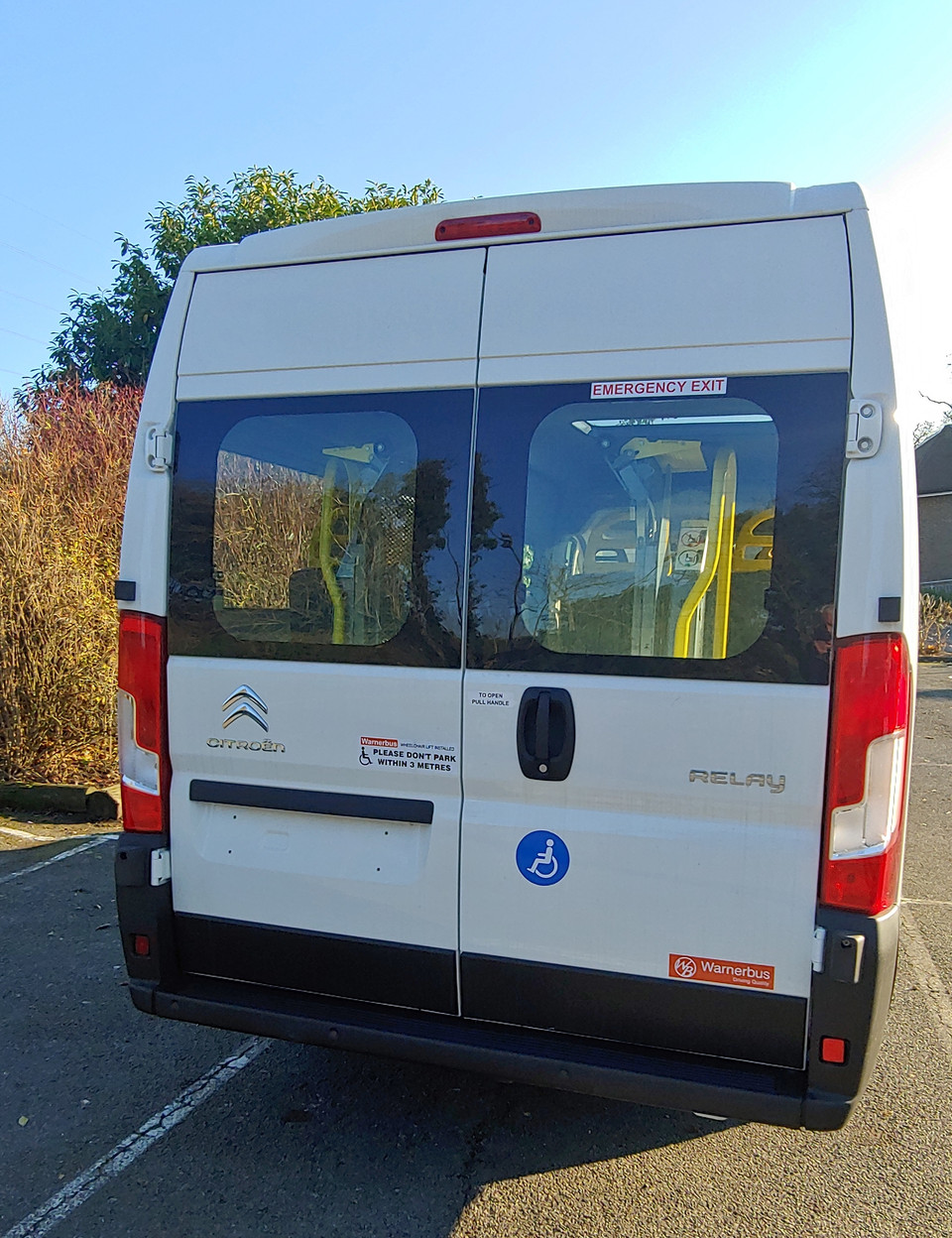 Citroen Relay Wheelchair Access Minibus