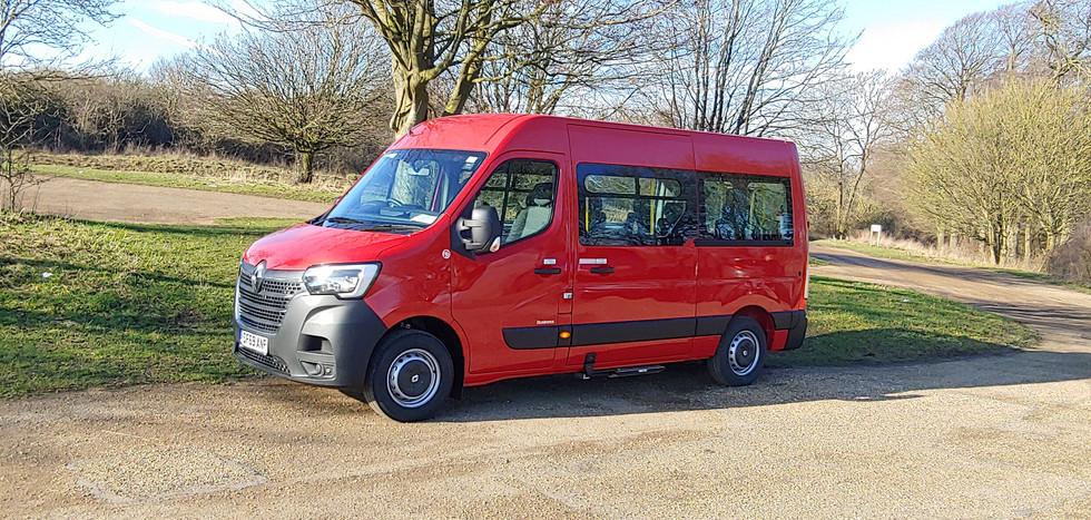 Renault Master 7 seat Wheelchair Accessible Warnerbus conversion