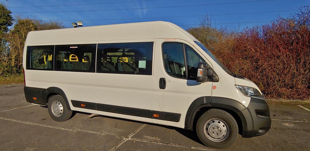 Warnerbus Citroen Relay Wheelchair Accessible Minibus