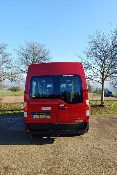 Rear view of Warnerbus Wheelchair Accessible Minibus conversion