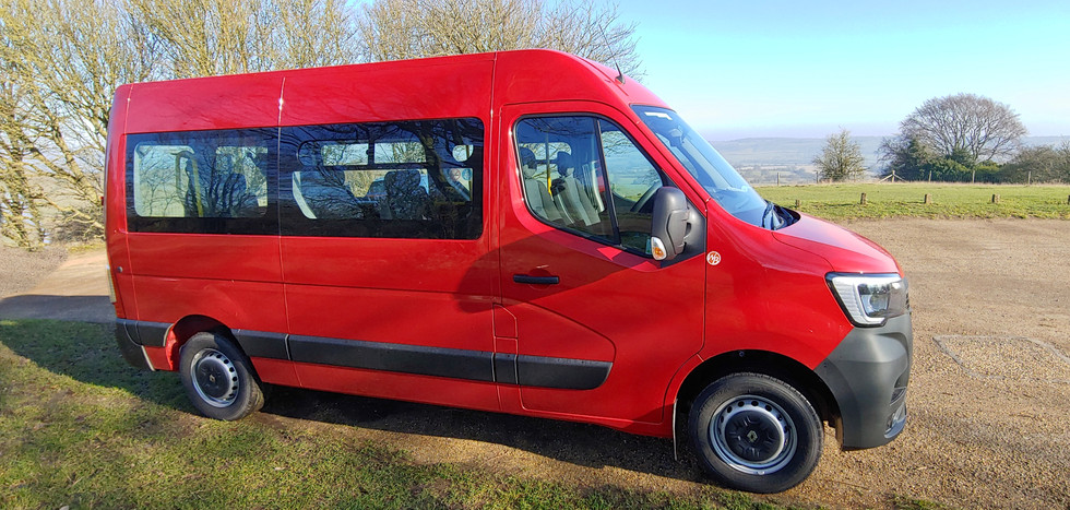 side elevation Warnerbus Minibus conversion
