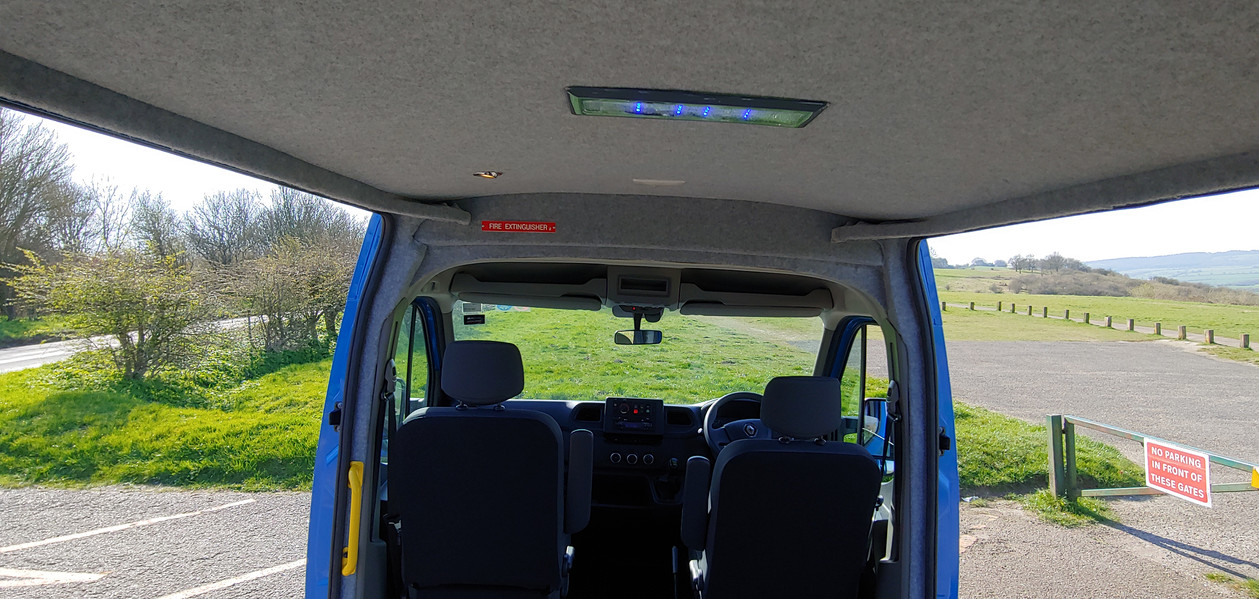 Dual side doors Renault Master Minibus