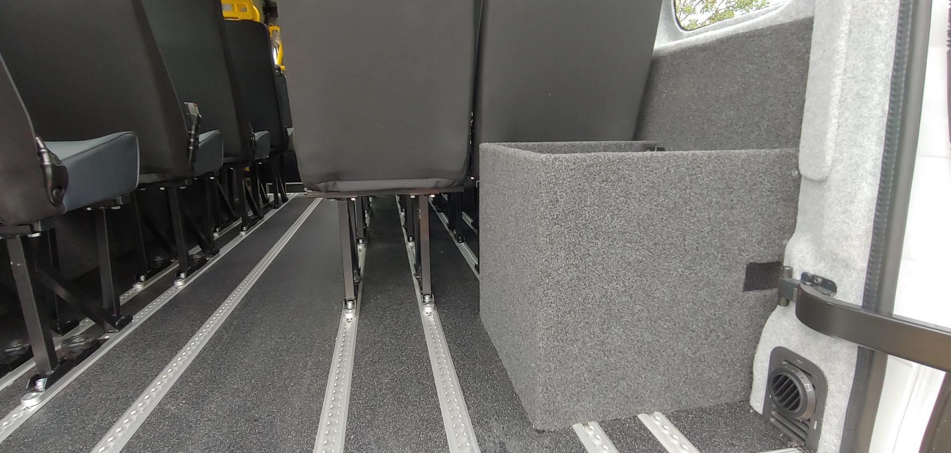 Seats and storage