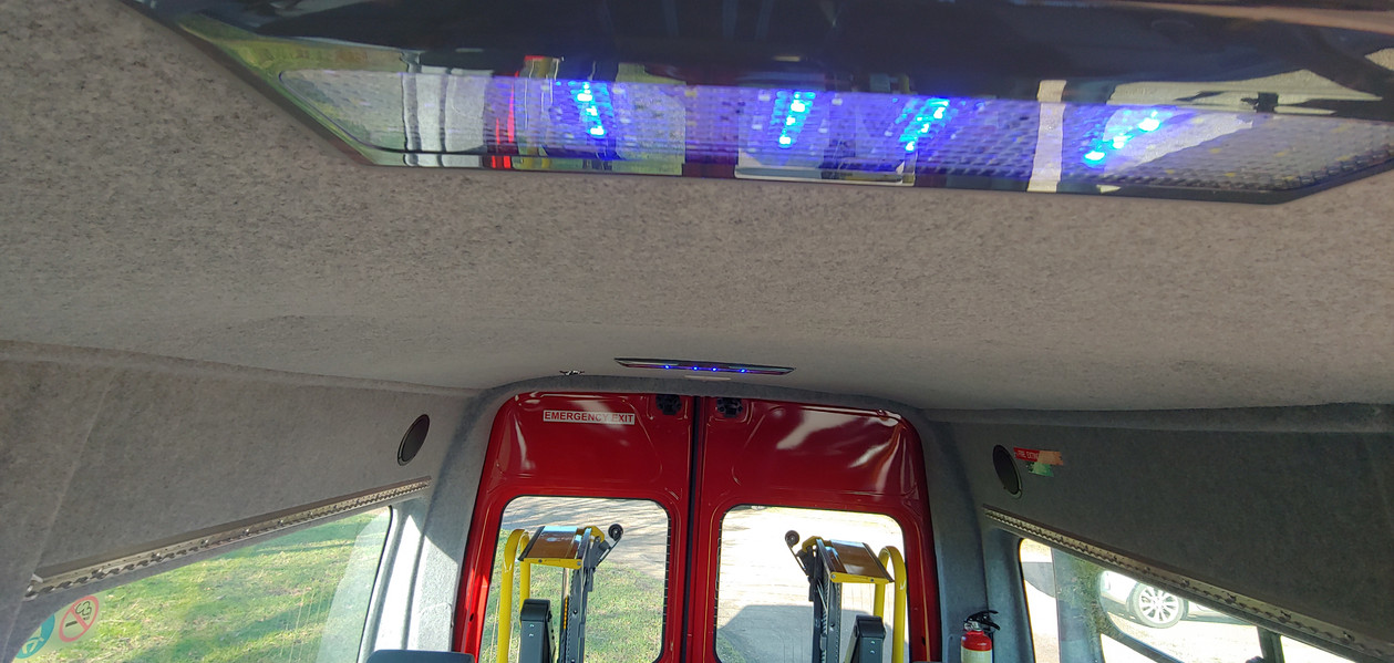 LED lighting in Warnerbus conversion