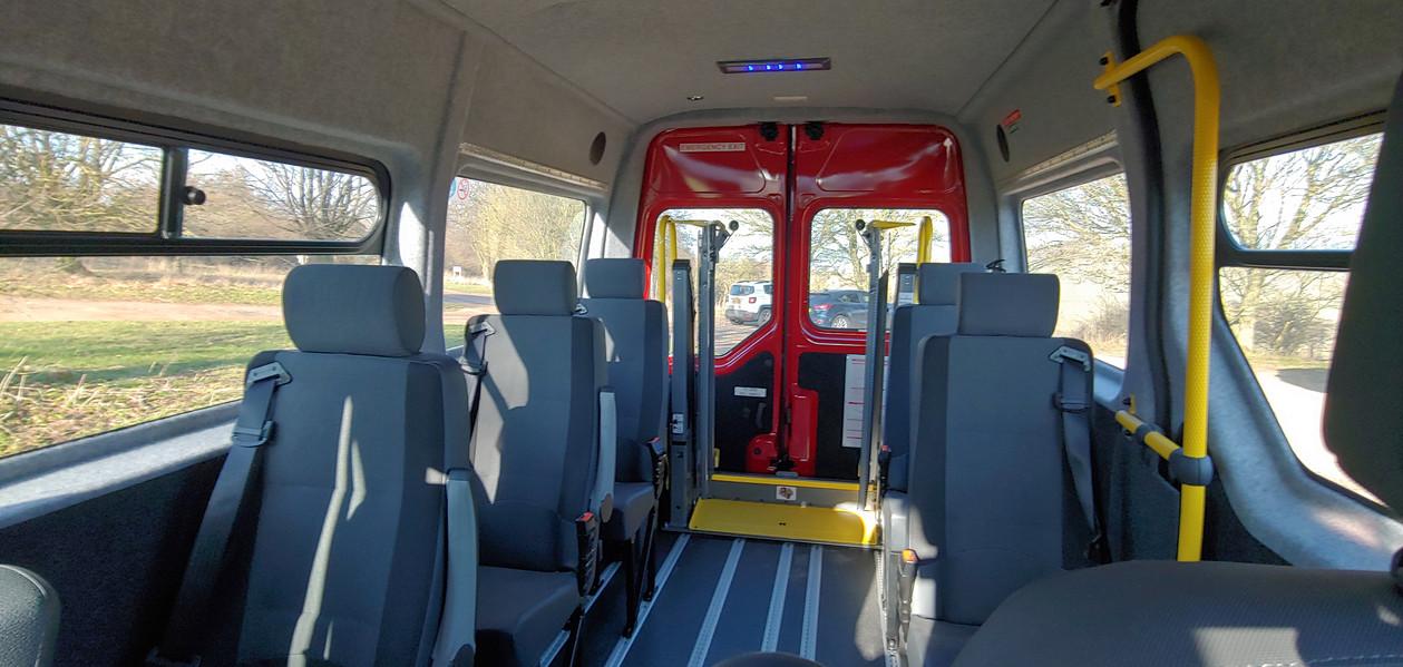 Interior Warnerbus Disabled Passenger Vehicle