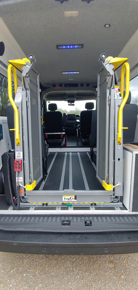 Internal Ricon Tail lift in Renault Master