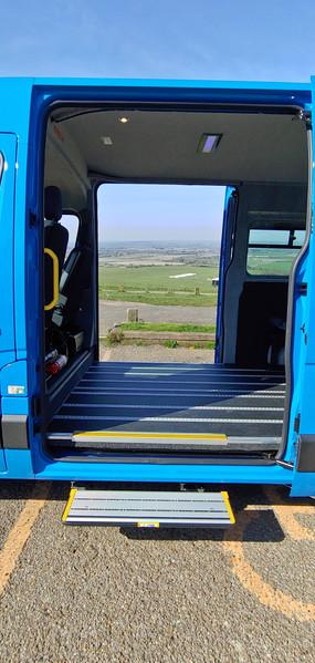 Renault Master Minibus 2 x sliding doors