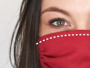 Nasenbügel für Mund-Nase-Maske