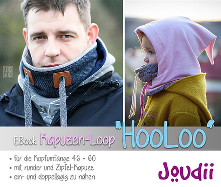 """EBook Kapuzen-Loop """"HooLoo"""""""