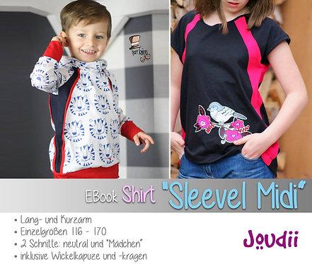 "EBook Shirt ""Sleevel Midi"""