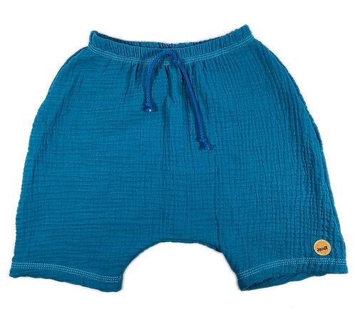 Shorts aus Musselin, Gr. 116