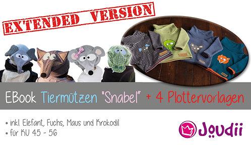 """EBook Tiermützen """"Snabel"""" + Plottervorlagen - EXTENDED VERSION"""