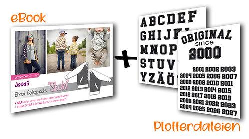 "EBook Collegejacke ""Skola"" +++ inkl. Plotterdatei +++"