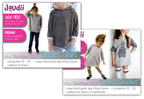 "Kombi-EBook Oversizeshirts ""Sneles Shirt & Langshirt"""
