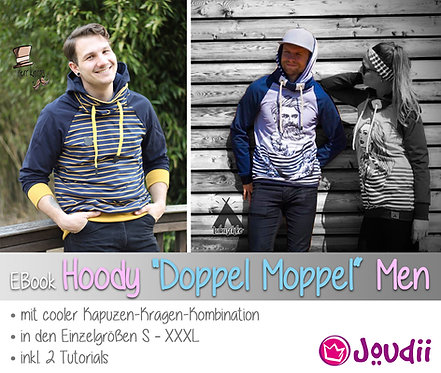 """EBook Hoody """"Doppel Moppel"""" Men"""