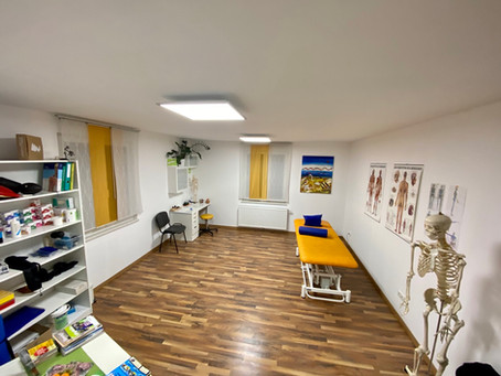 Neuer Therapieraum in Graz