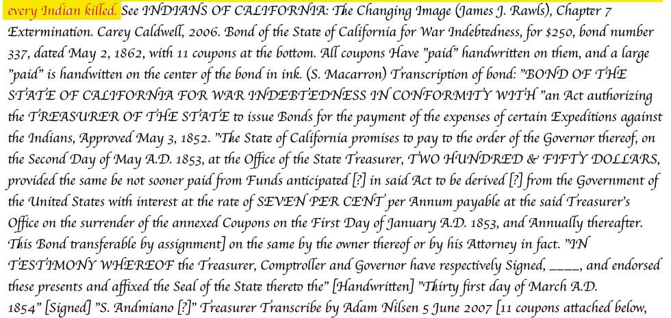 1850's California policies