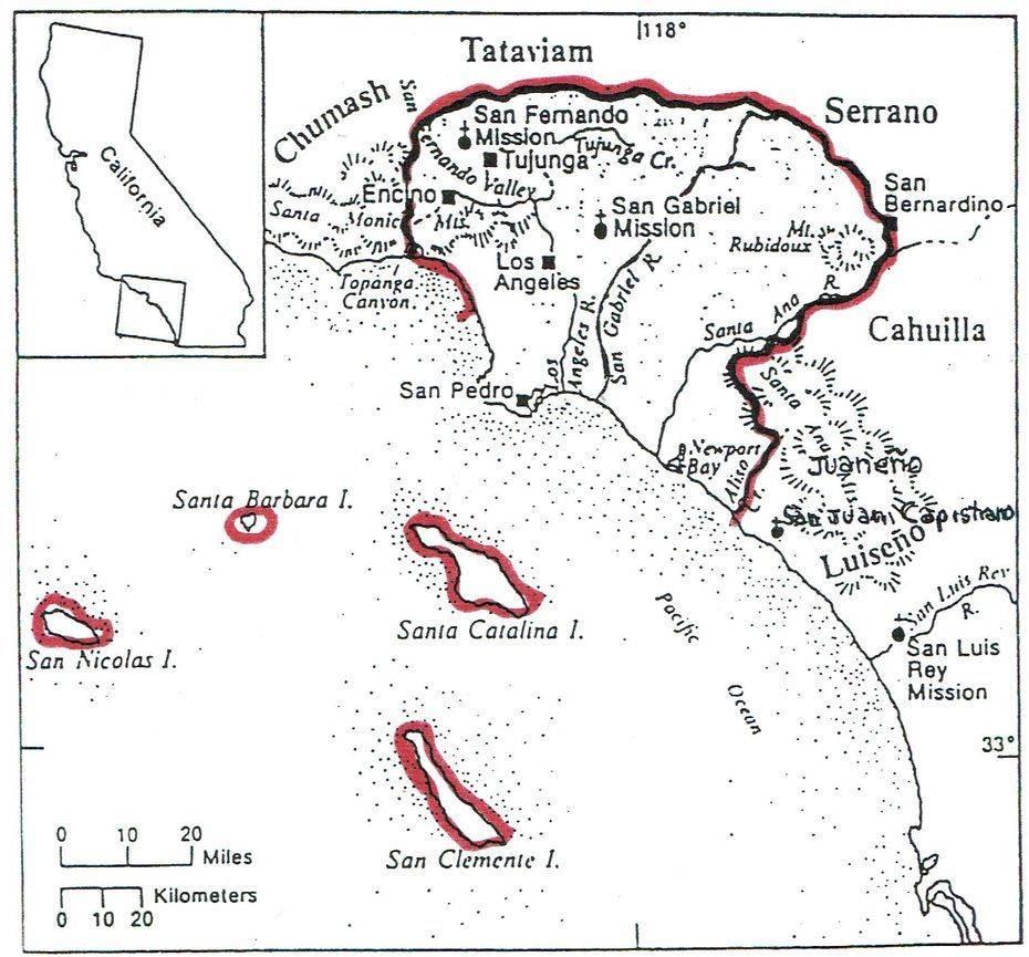 Tovanga: the world of the Gabrieleno Tongva