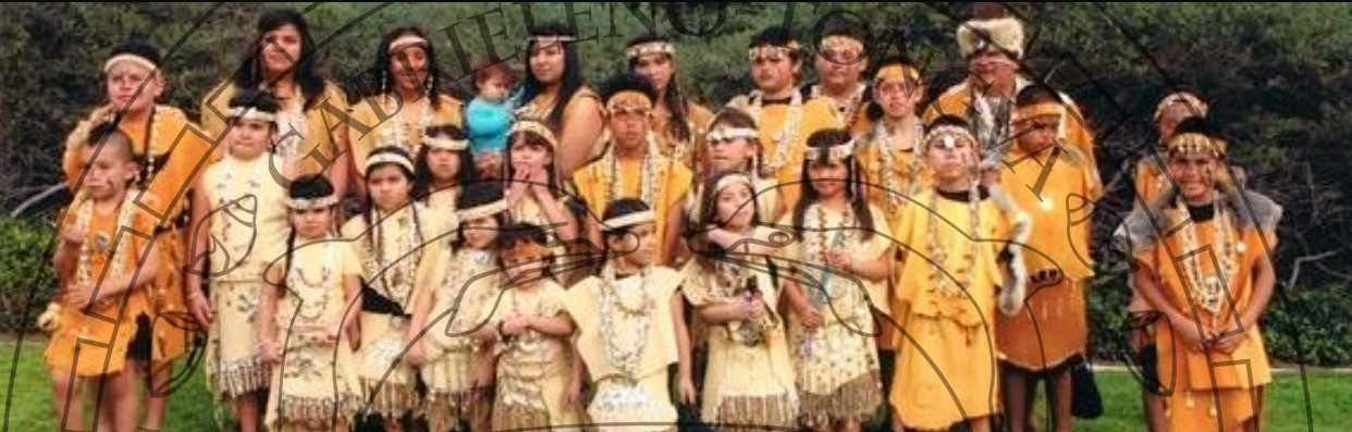 Group of Gabreleno Tongva Native Americans