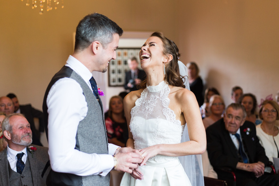 Herford Castle Wedding: Kayla & James