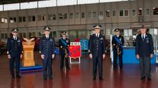 Il Presidente Nazionale AAA al cambio Comando del 1° R.M.V. Cameri