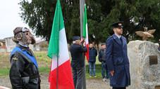 Inaugurato a Villata un monumento in memoria dei Caduti dell'Aeronautica Militare