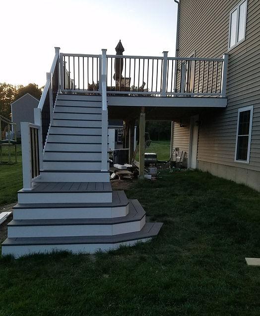 decking, stairs, pvc