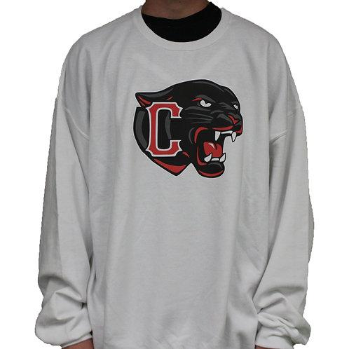 Panther Head Crewneck Sweatshirt