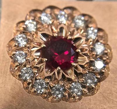 professional diamond setting