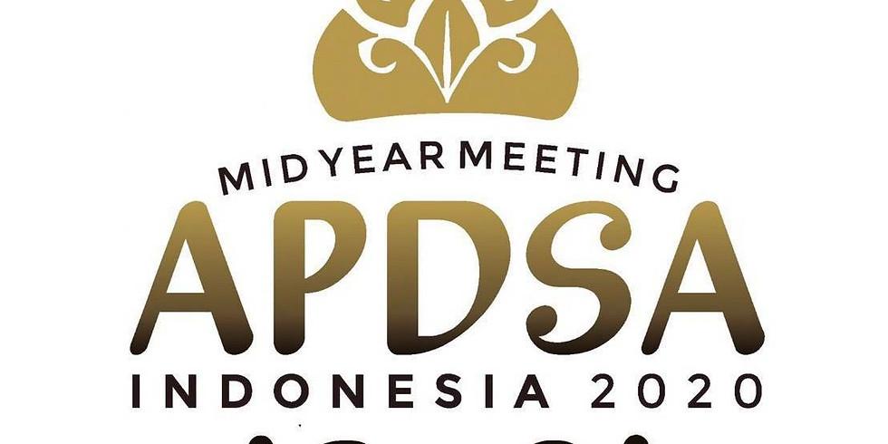 12th APDSA 2021 Mid Year Meeting, Indonesia 2021