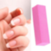 Nail buffer used in manicure treatments at Ivonne Sanchez Beauty.