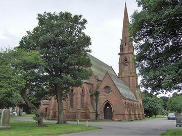 Anfield Cemetery Chapel