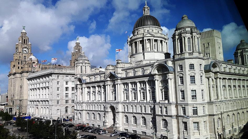 3 Graces - part of the Historical Liverpool UNESCO Walk