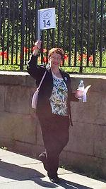 Julie Kershaw, Blue Badge Guide for Liverpool