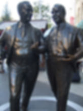 John and Cecil Moores statue