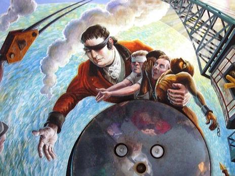 Edward Rushton mural