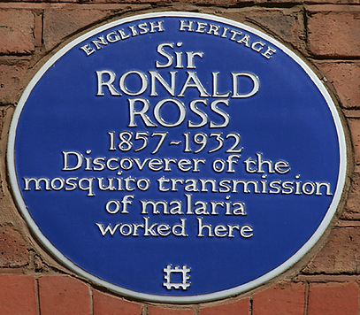 Sir Ronald Ross blue plaque liverpool
