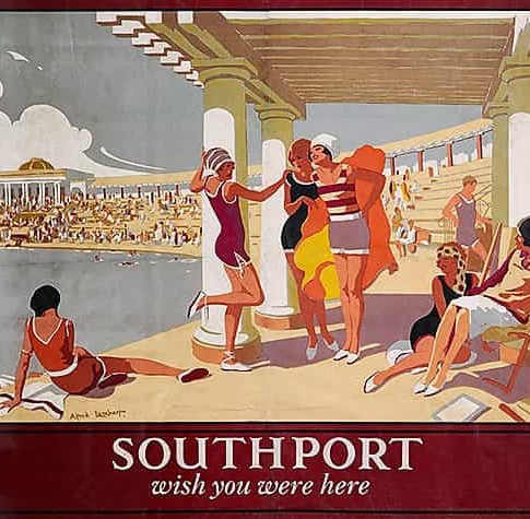 Southport Railway Poster