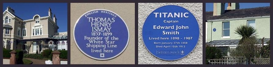 Titanic: Thomas Ismay's house and Captain Edward Smith's house, Waterloo, Liverpool