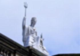 Spirit of Liverpool statue.