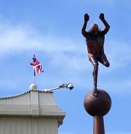 Diver Sculpture Southport