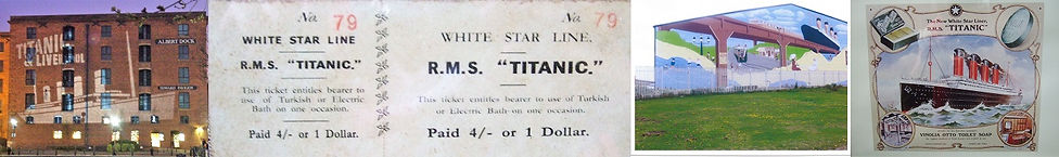 Medley of Titanic Liverpool images