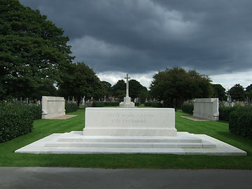 Blitz Memorial, Anfield Cemetery