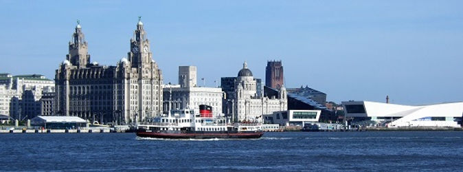 Image of Liverpool's waterfront