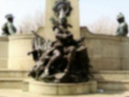 Kings Regiment statue St John's Gardens