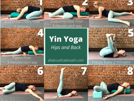 Yin Yoga: Hips and Back